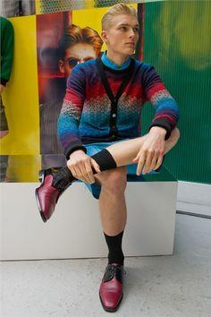 Sfilata Jonathan Saunders Milano Moda Uomo Primavera Estate 2013 - Vogue