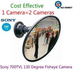"""Купить товарМини 1/3 """"Sony 700TVL 1.8 мм объектив 130 градусов Широкий Угол безопасности Скрытые Зеркала Видео CCTV камера с 130 градусов объектив"""" рыбий глаз"""" в категории Камеры скрытого видеонаблюденияна AliExpress.  заменить Несколько Камер С Помощью Супер Широкий Угол Камеры  DC Безопасности SONY 700TVL 180 Градусов Широкоугольный Р"""