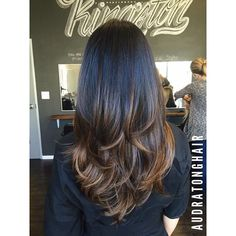 Black to brown ombre!