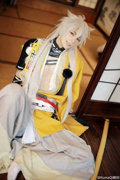 KumaQi(熊祁) Kogitsunemaru Cosplay Photo - Cure WorldCosplay