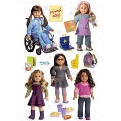 American Girl Crafts School Days Doll Stacked Stickers - http://craftstoresonline.org/american-girl-crafts-school-days-doll-stacked-stickers