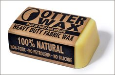 how to wax cotton...jackets, jeans, anything!