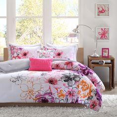 Intelligent Design Cassidy 5-Piece Comforter Set | Overstock.com Shopping - The Best Deals on Teen Comforter Sets