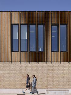 Thistle Foundation, Centre of Health & Wellbeing, Edinburgh, by 3DReid. Timber cladding, brick and pre-cast concrete to exterior. Photography courtesy of Cadzow Pelosi.