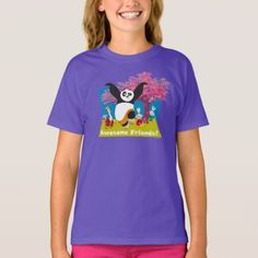 Shop Po's Awesome Friends T-Shirt created by kungfupanda. Personalize it with photos & text or purchase as is! Po Kung Fu Panda, Cartoon T Shirts, Pos, Fitness Models, Best Friends, Awesome, Casual, Sleeves, Mens Tops