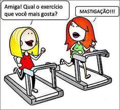Exercício favorito! Hahahahahaha