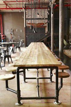 Industrial rustic interior