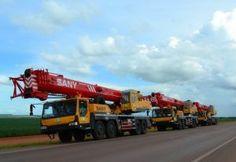 A Sany forneceu três guindastes sobre caminhão STC75, de 75 toneladas, a empreendedora Parente Andrade, localizada em Manaus (AM). A empreendedora, que ingressou recentemente na locação de equipamentos, atenderá a indústria de óleo e gás com os guindastes recém-adquiridos.