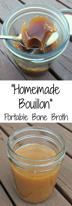 French Delicacies Essentials - Some Uncomplicated Strategies For Newbies Homemade Bouillon Condensed, Portable Bone Broth How We Flourish Paleo Recipes, Real Food Recipes, Soup Recipes, Cooking Recipes, Yummy Food, Recipies, Yummy Recipes, Soup Broth, Paleo Soup