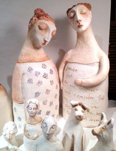 clay figures before firing Lbalombini.com
