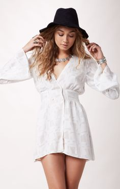 don diego dress // @STONE COLD FOX #whatsnew #planetblue