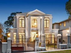 Photo of a wrought iron house exterior from the realestate.com.au Home Ideas Facades image galleries - House Facade photo 8938037. Browse hundreds of wrought iron facade designs from Australian homes on Home Ideas.