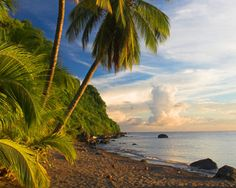 Dominica | Aside from spectacular beaches and a tranquil ambiance, this caribbean destination is home to Morne Trois Pitons National Park, which boasts over 300 miles of exhilerating hiking trails.