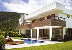 fachadas-de-casas-modernas-sem-telhado-aparentel