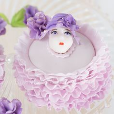 """""""In your Easter Bonnet with all The Frills Upon it"""" - by Bobbie @ CakesDecor.com - cake decorating website"""
