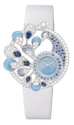 Boucheron Ajourée Héra jewellery watch
