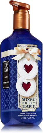 Mixed Berry Tart Deep Cleansing Hand Soap - Soap/Sanitizer - Bath & Body Works
