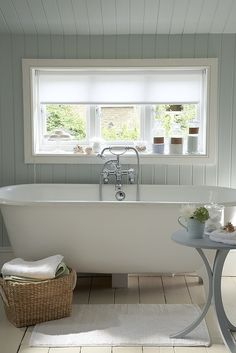 Bathroom Wall Colours.. That tub!