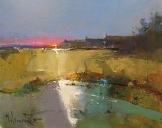 Peter Wileman, Painters and Printmakers Abstract Landscape Painting, Seascape Paintings, Landscape Art, Landscape Paintings, Acrylic Paintings, Acrylic Art, Abstract Art, Peter Wileman, Landscape Pictures