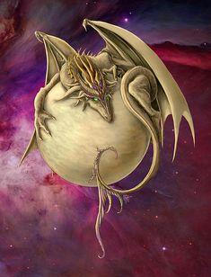 Venus Dragon - Artist Rob Carlos on Fine art america