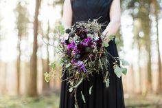 Black & Purple – Verträumte Hochzeitsinspirationen im Wald & Gewächshaus » aline lange FOTOGRAFIE