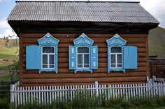 A cabin in Russia.