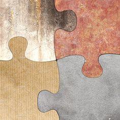 Textured puzzle by De todo un poco on @creativemarket