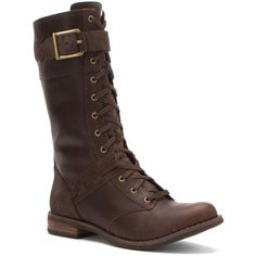 Timberland Women's Earthkeepers® Savin Hill Mid Boots (385646701) ($118) ❤ liked on Polyvore featuring shoes, boots, dark brown, galaxy shoes, dark brown boots, timberland shoes, rugged boots and lacing boots