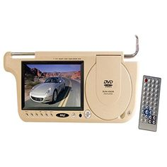 Pyle 7 TFT Left Side Sunvisor with DVD Player (Tan Color) - myaccessoryguy Audio In, Car Videos, Display Screen, Mp3 Player, Consumer Electronics, Color, 9 Video, Dvd Players, Aspect Ratio