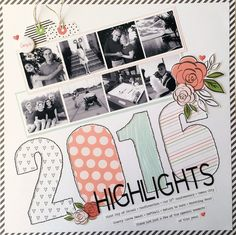 For the last challenge of this year, Mari and I decided to do a highlights page of 2016. This challenge proved to be one that I loved and I ...