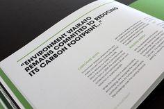 Environment Waikato Annual Report on Behance