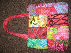 embroidery purse I made