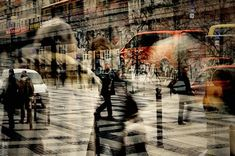 Station Alex 2 by Stephanie Jung, art work Movement Photography, A Level Photography, Double Exposure Photography, Experimental Photography, Urban Photography, Abstract Photography, Artistic Photography, Creative Photography, Street Photography