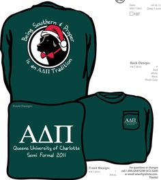 I love this because it is my dog Bailey and ADPi <3