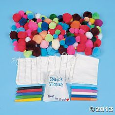 david+and+goliath+craft | 592 Pc. David's Bag Of Stones Mega Craft Kit - Oriental Trading ...