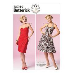 Butterick Pattern B6019 (12-14-16-18-20)