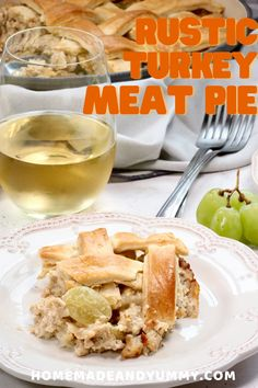 This classic French dinner is perfect for Sunday Supper. Ground turkey is the base, along with grapes and a white wine sauce. #frenchcooking #groundturkey #meatpie #cookingwithwine Thanksgiving Leftovers, Thanksgiving Desserts, Thanksgiving Ideas, Christmas Recipes, Holiday Recipes, Dinner Recipes, My Favorite Food, Favorite Recipes, Whole Turkey Recipes