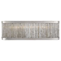 Sophie Large Linear Bath Light in Burnished Silver Leaf NW2226BSL - master bath