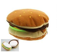 hamburger cd case, i love mine! its cute and serves a purpose lol