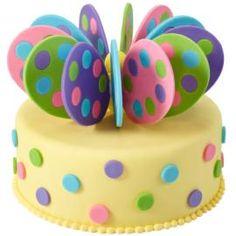 Una tarta monísima para una fiesta Pascua / A lovely Easter egg cake