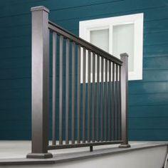 Stair Railing Kits, Deck Railing Systems, Deck Stairs, Deck Railings, Hand Railing, Stair Posts, Deck Posts, Metal Deck, Aluminum Decking