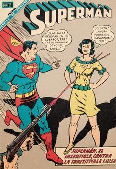 Superman Characters, Superman Comic, Action Comics 1, Dc Comics Art, Comic Book Covers, Comic Books Art, Tarzan, Comics Vintage, Classic Comics