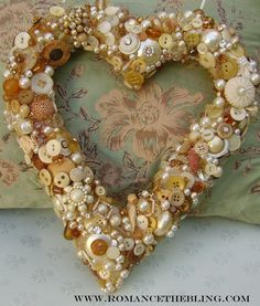 One of a Kind Heart Wreath ~ ♥