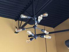 rustic industrial multi bulb pendant light Light Project, Rustic Industrial, Bulb, Pendant, Projects, Log Projects, Blue Prints, Onions, Hang Tags