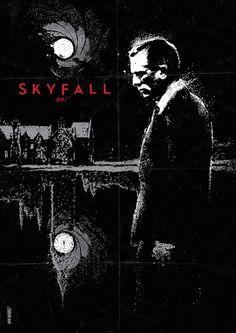 Skyfall James Bond Movie Posters, James Bond Movies, Movie Poster Art, Film Posters, Movie Talk, Love Movie, James Bond Skyfall, Alternative Movie Posters, Film Serie