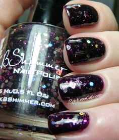 KBShimmer Showgirl - Swatches and Review | Pointless Cafe