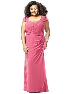 Lovelie Plus Size Bridesmaid Style 9008 http://www.dessy.com/dresses/bridesmaid/9008/