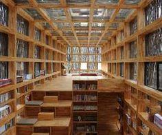 """Eco-Friendly Material """"Liyuan Library"""""""