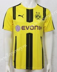 2016/17 Borussia Dortmund Home Yellow Thailand Soccer Jersey
