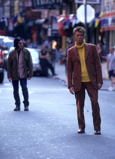 Trent Reznor and David Bowie from I'm Afraid Of Americans video 90s. #TrentReznor #NineInchИails #DavidBowie